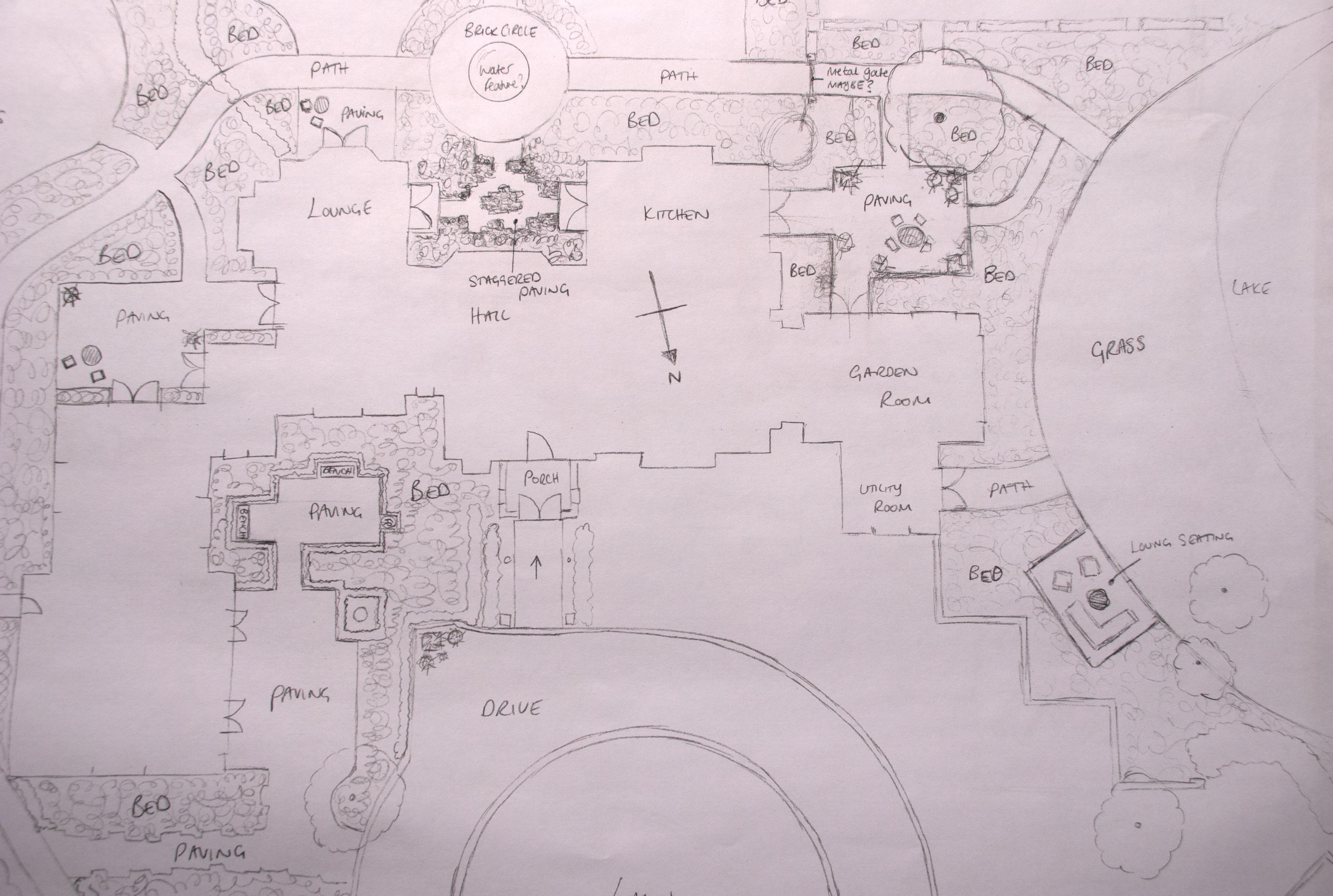 Design your own garden lisa cox garden designs blog for Draw your own design