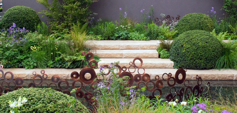 Copper sculpture lisa cox garden designs blog for Garden design blogs