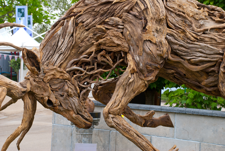 Rhs chelsea flower show 2012 lisa cox garden designs blog Driftwood sculptures for garden