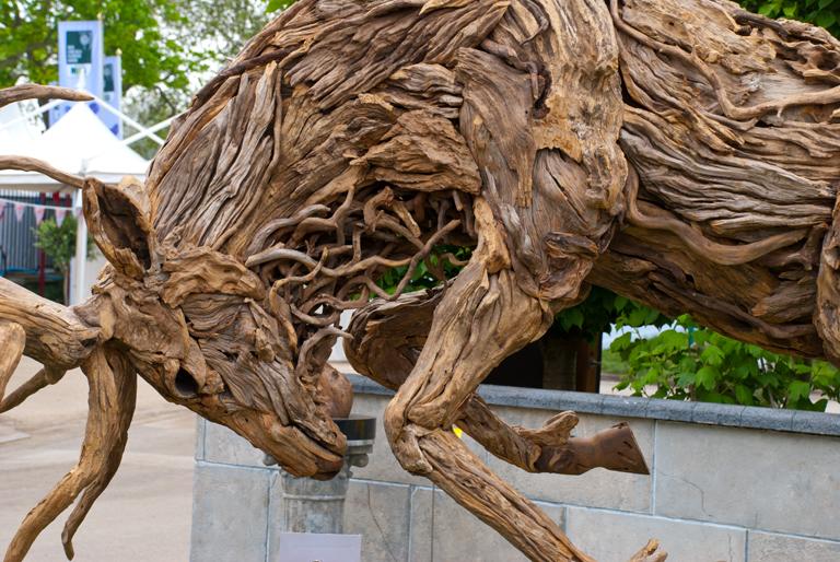 amazing driftwood sculptures by james doran webb lisa. Black Bedroom Furniture Sets. Home Design Ideas