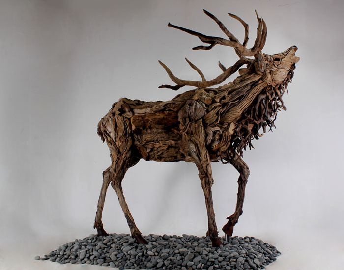 Amazing Driftwood Sculptures By James Doran Webb Lisa