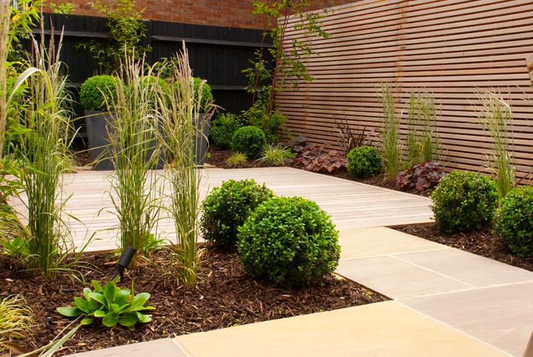 winter garden with evergreen structure Lisa Cox Garden