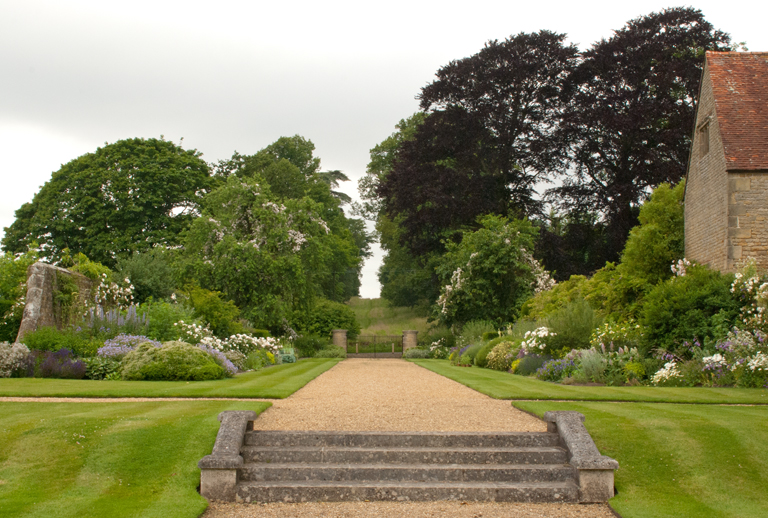 West borders at Woolbeding house