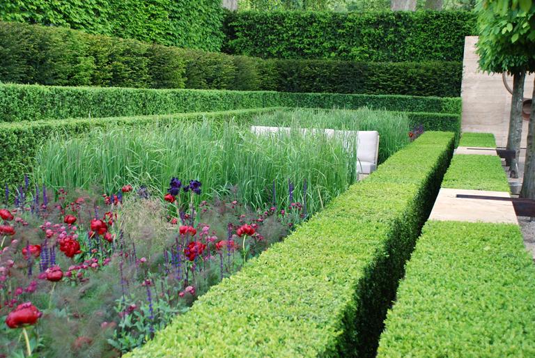 Laurent perrier garden 2009 lisa cox garden designs blog for Chelsea garden designs