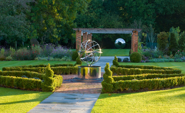Armillary Sphere Lisa Cox Garden Designs Blog