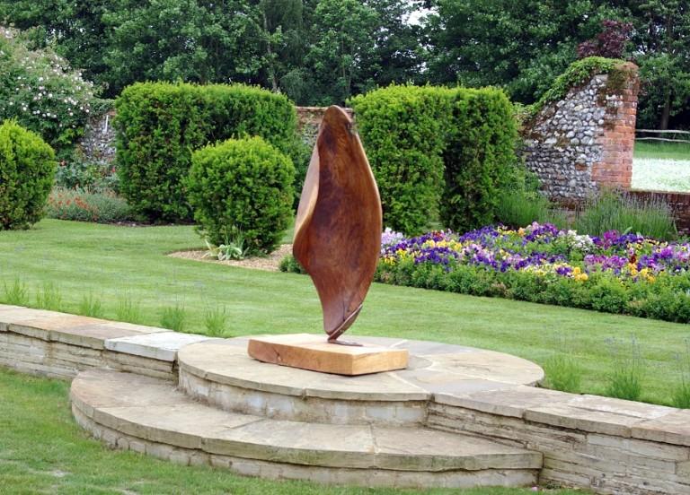 Redwood garden sculpture by martin pigg buy