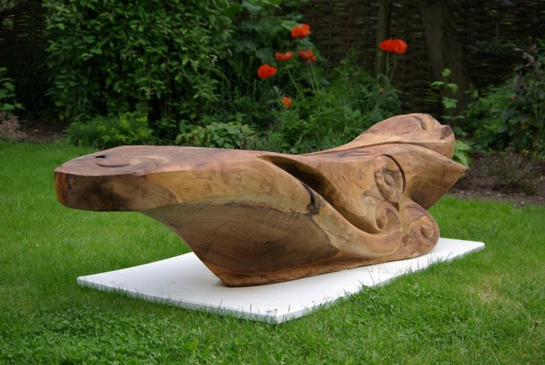 Redwood Garden Sculpture By Martin Pigg. Before Discovering ...