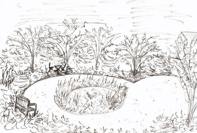 Garden Sketch Ideas Lisa Cox Garden Designs Blog