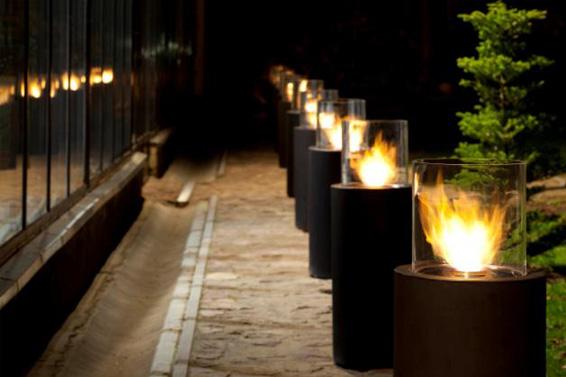 Outdoor Fires By Planika Lisa Cox Garden Designs Blog