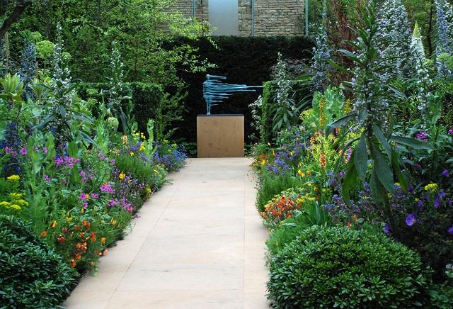 Arthritis research garden by Chris Beardhaw