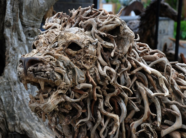 Driftwood Sculpture Lisa Cox Garden Designs Blog