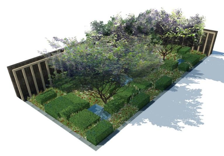 Telegraph Garden Chelsea 2013