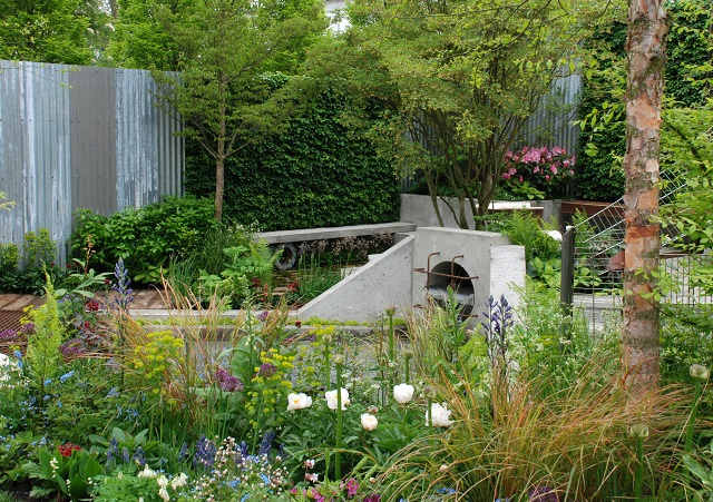 The Wasteland Garden by Kate Gould Chelsea 2013