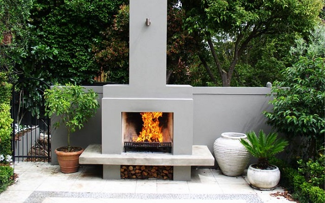 Alfresco bespoke fire