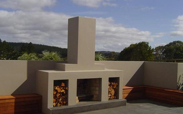 Bespoke Afresco outdoor fire