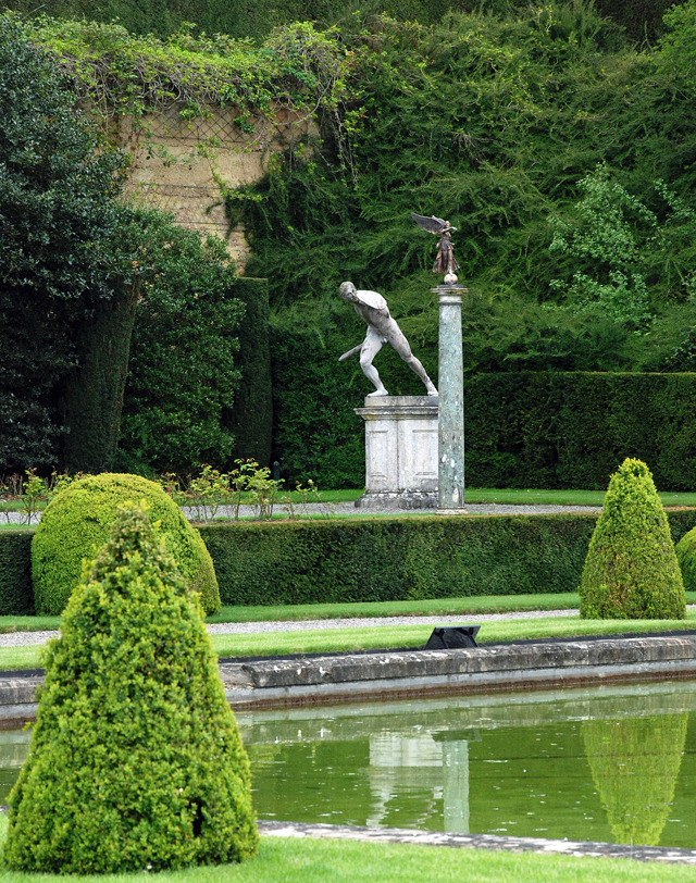 Blenheim Palace Water Terrace by Lisa Cox