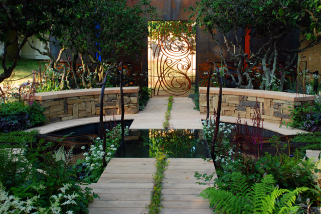 a cool garden lisa cox garden designs blog