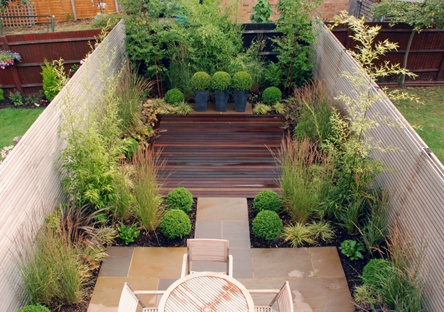 contemporary courtyard design lisa cox garden designs blog - Garden Design Blog