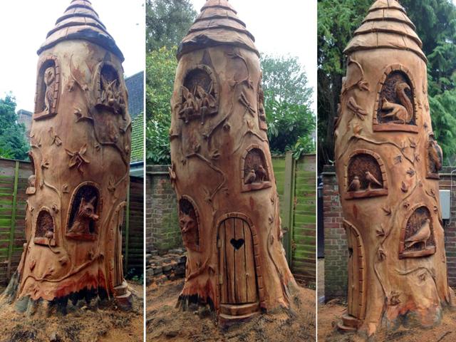 Fairy Tree House in Esher by Ella Fielding