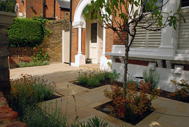From the drawing board Front garden in Wandsworth 9