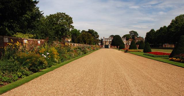 Herbaceous border at Hampton Court Palace Garden Lisa Cox Designs