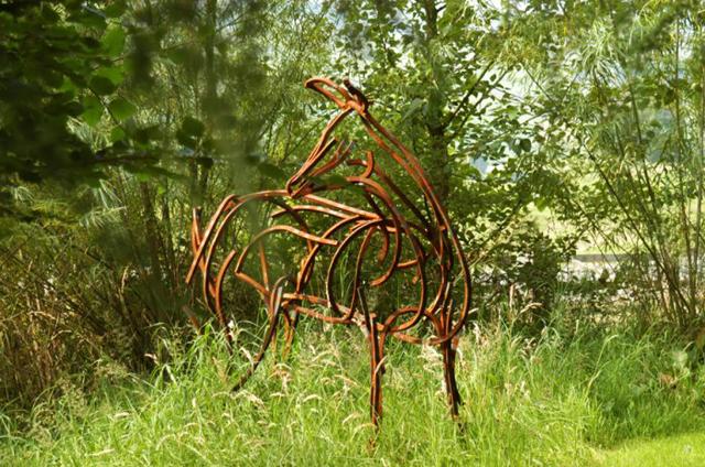 Hind in Woodland courtesy of  M. Southworth Esq