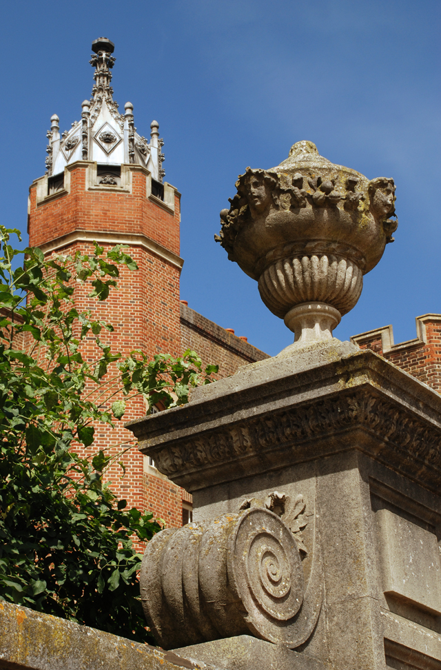 Interesting architecture Hampton Court Palace Lisa Cox Garden Designs