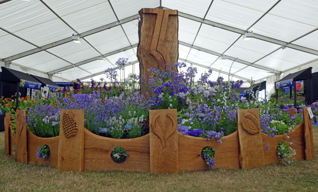 Plant Heritage Stand Hampton Court Flower Show 2013 Ella Fielding