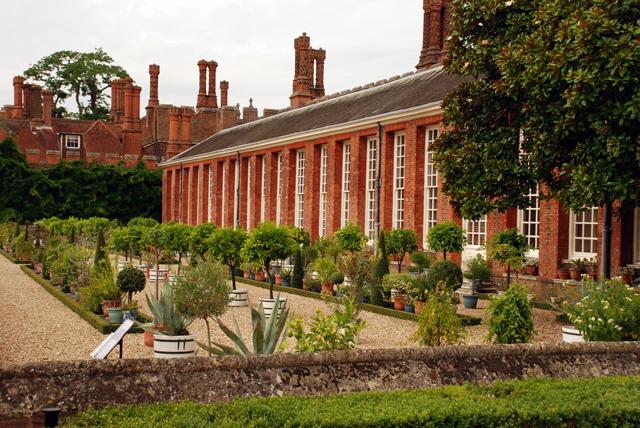 The lower orangery at Hampton Court Palace Lisa Cox