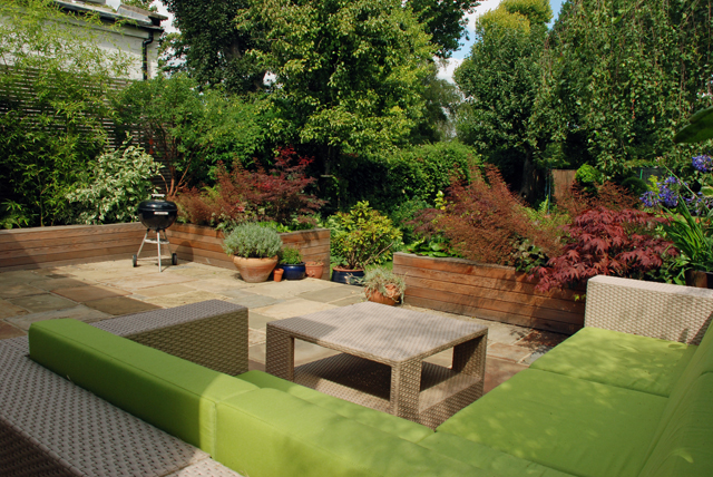 Wandsworth garden design by Lisa Cox