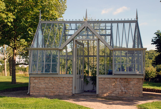 Allitex greenhouse The Mottisfont National Trust Collection
