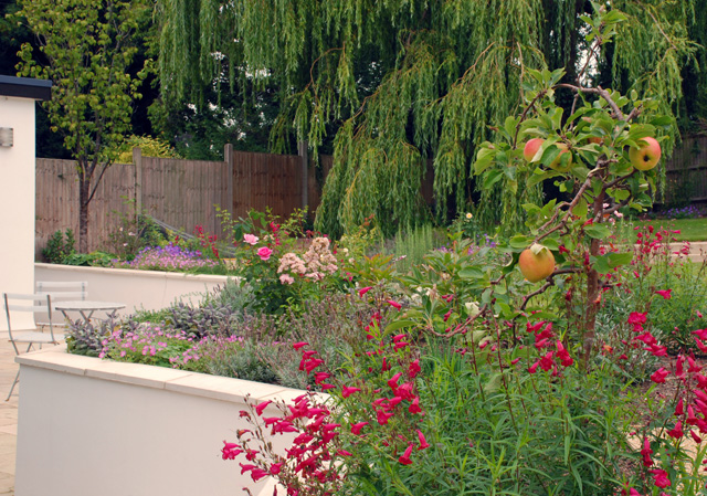 Planting in Leatherhead garden Lisa Cox Designs