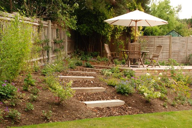 Designing Sloped Gardens Lisa Cox Garden Designs Blog