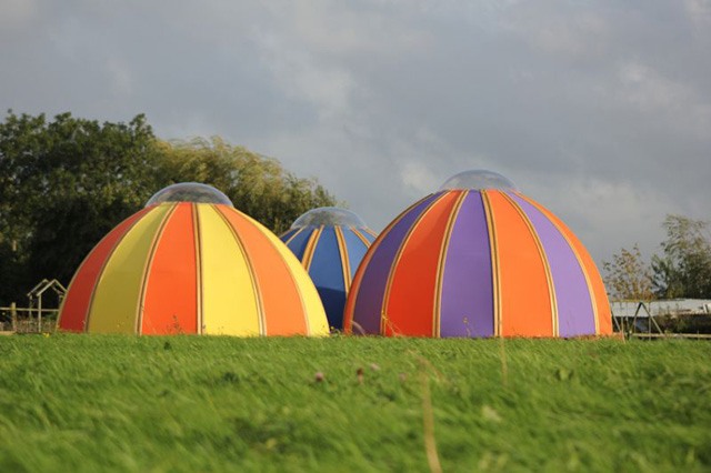Pod tents by Unidome