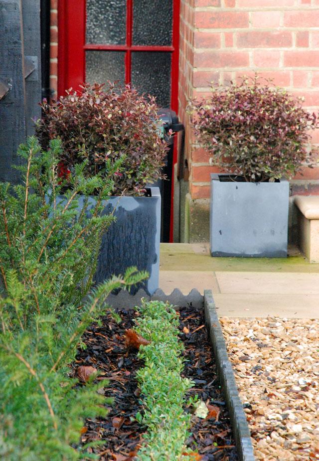Front garden design Muswell Hill Lisa Cox