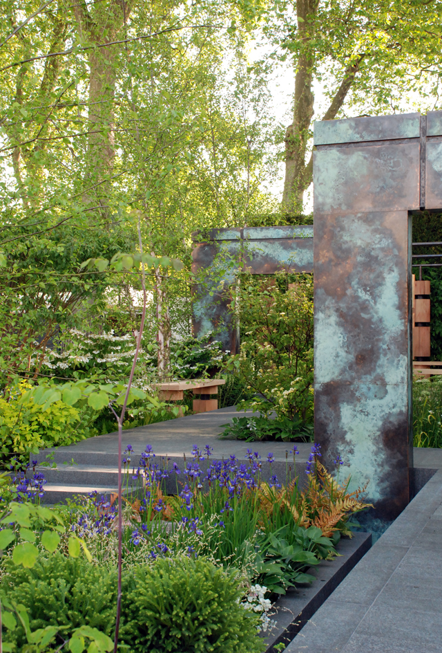 Brewin Dolphin Garden RHS Chelsea 2014 Lisa Cox Designs