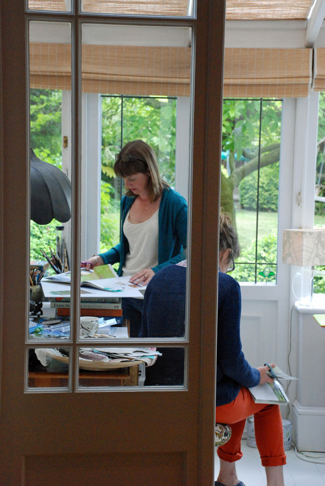 Design your garden course Lisa Cox at Decor Cafe Putney