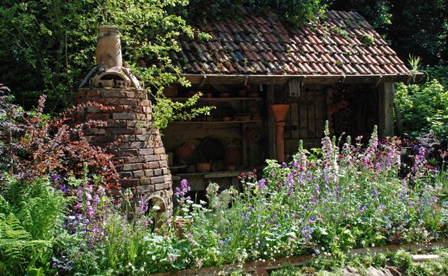 DialAFlight Potter's Garden RHS Chelsea 2014 Lisa Cox