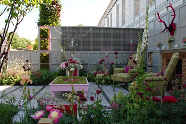 Fabric Garden RHS Chelsea 2014 Lisa Cox