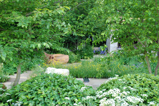 RHS Chelsea 2014 Homebase Garden Lisa Cox Designs