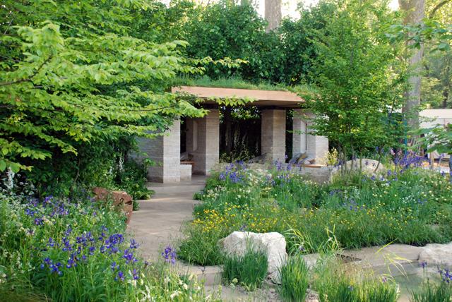 RHS Chelsea Flower Show 2014 The Homebase Garden Lisa Cox