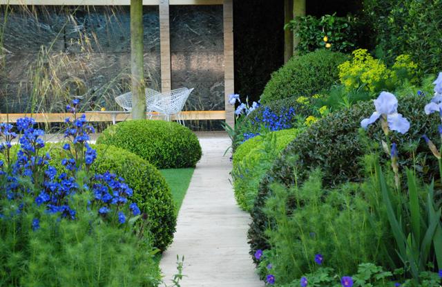 Modern italian garden lisa cox garden designs blog for Italian garden design