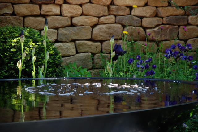 Water pool in Tour de Yorkshire Garden Chelsea 2014 Lisa Cox