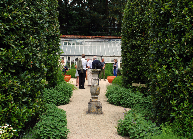 A tour of the herb Garden at Loseley Park Lisa Cox Designs