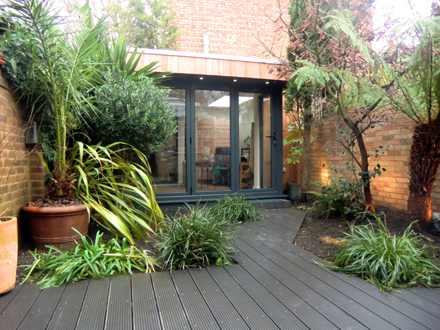 Green Studios garden room in Brixton