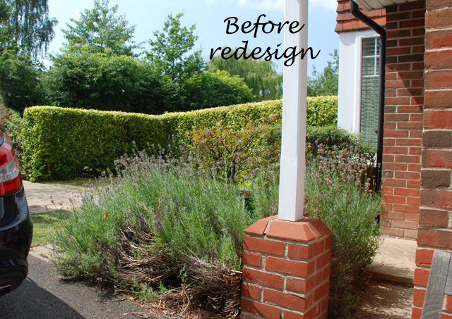 Reading front garden before redesign Lisa Cox Designs
