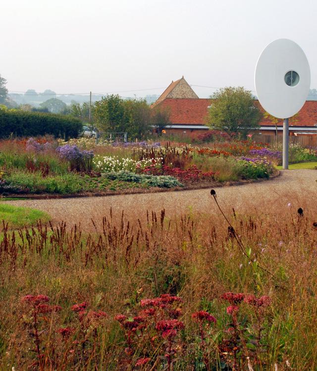 Hauser Wirth clock Lisa Cox Garden Designs