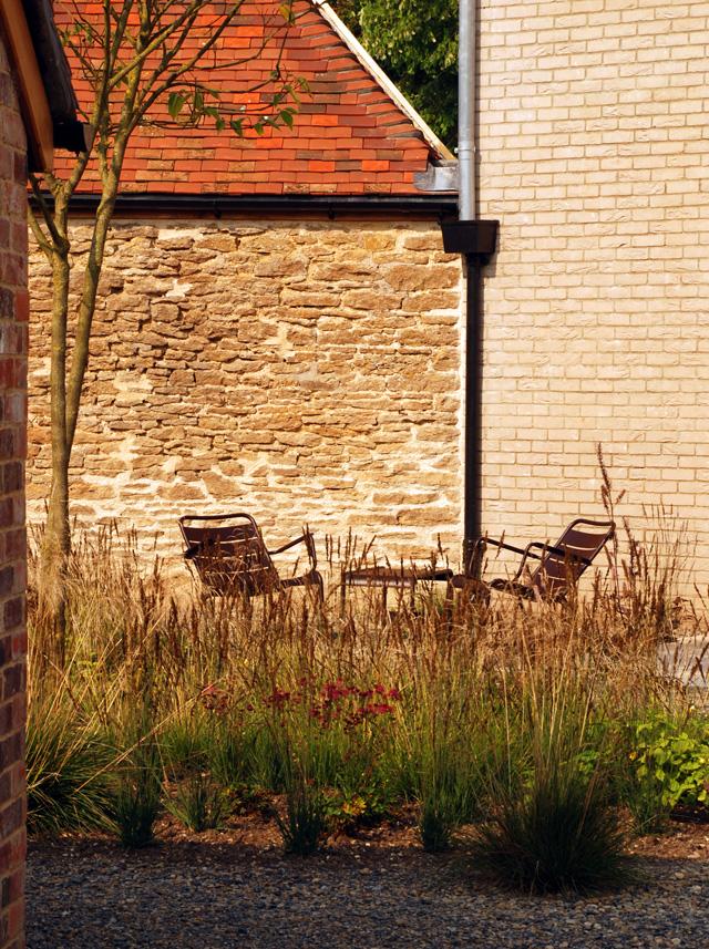Inner courtyard Hauser Wirth Gallery Somerset Lisa Cox Designs
