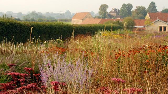 Piet Oudolf garden at Hauser Wirth Somerset Lisa Cox Designs
