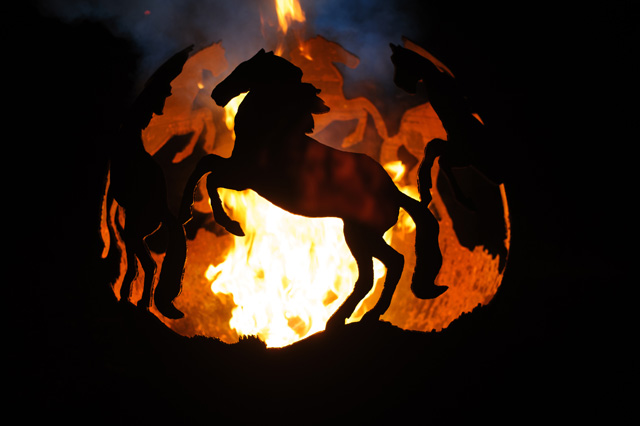 Prancing Horses Ball by The Firepit Company